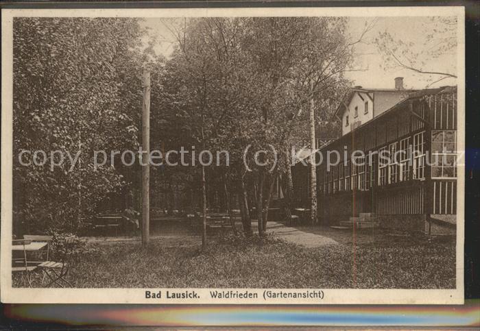 Bad Lausick Waldfrieden mit Garten Kat. Bad Lausick