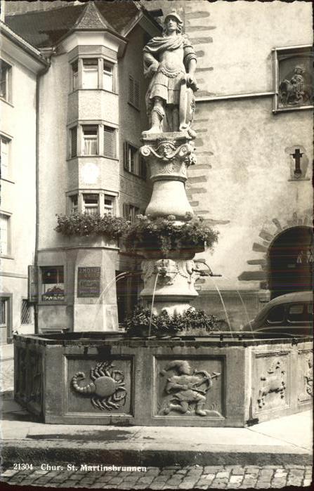 Chur GR St. Martinsbrunnen Kat. Chur