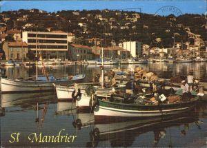 Saint Mandrier sur Mer Depart des pecheurs  Kat. Saint Mandrier sur Mer