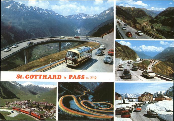 St Gotthard St.Gotthard Pass Kat. Gotthard St.