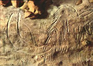 Hoehlen Caves Grottes Grotte de Rouffignac Dordogne Tete du Patriarche Kat. Berge