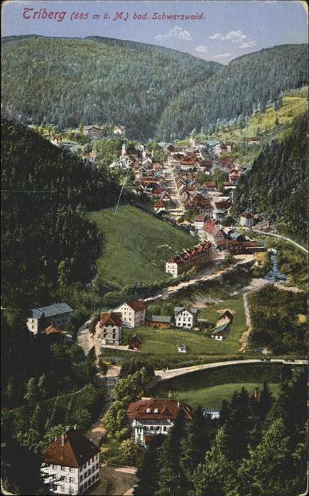 Triberg Schwarzwald Schwarzwald Kat. Triberg im Schwarzwald