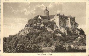 Ranis Burg Ranis Kat. Ranis