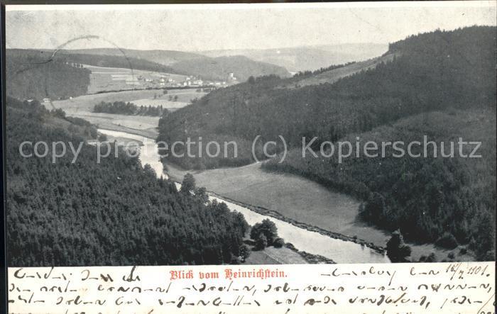 Ebersdorf Lobenstein vom Heinrichstein Kat. Roehrnbach