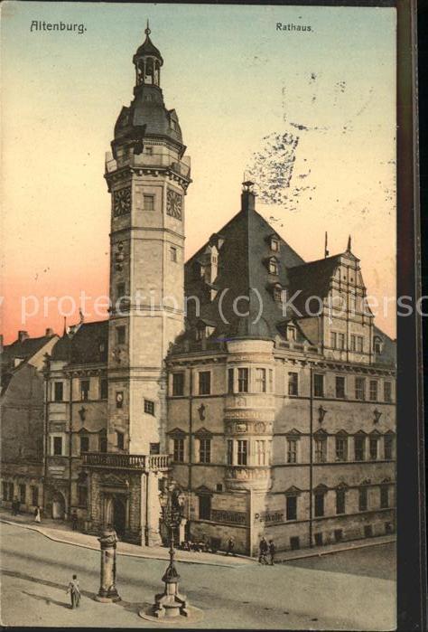 Altenburg Thueringen Rathaus / Altenburg /Altenburger Land LKR