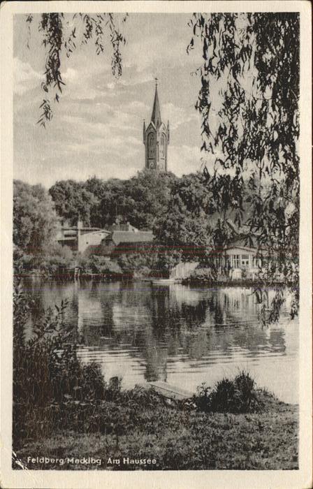Feldberg Mecklenburg Am Haussee Kat. Feldberger Seenlandschaft