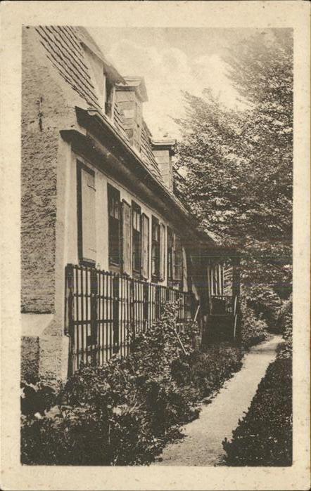Weimar Thueringen Goethehaus Hausgarten / Weimar /Weimar Stadtkreis