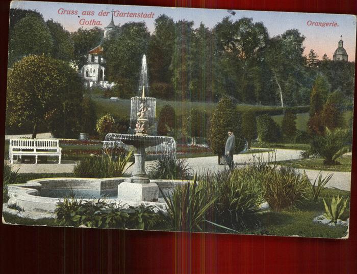 Gotha Thueringen Orangerie / Gotha /Gotha LKR