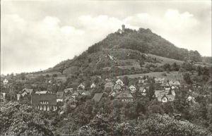 Bad Blankenburg Burgruine Greifenstein Kat. Bad Blankenburg