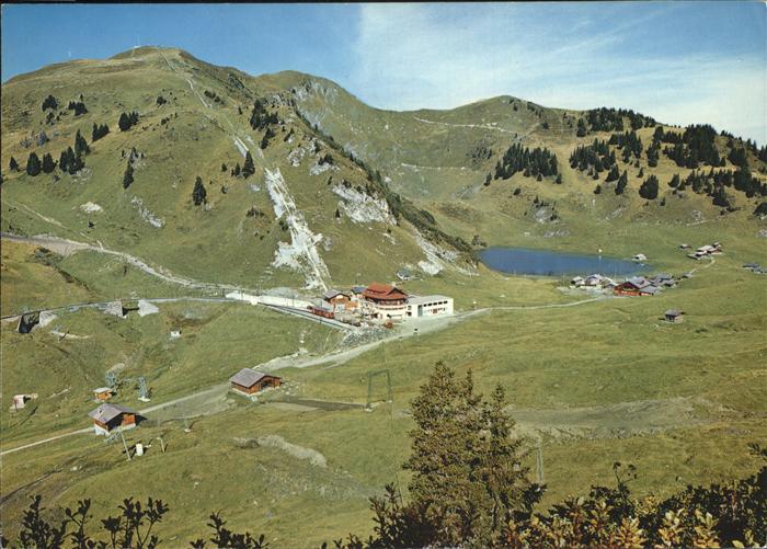 Villars sur Ollon Col de Bretaye Lac Alpes vaudoises Berghaus Liftstation Bergsee Kat. Villars sur Ollon