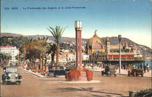 Nice Alpes Maritimes Promenade des Anglais et le Jetee Promenade Kat. Nice