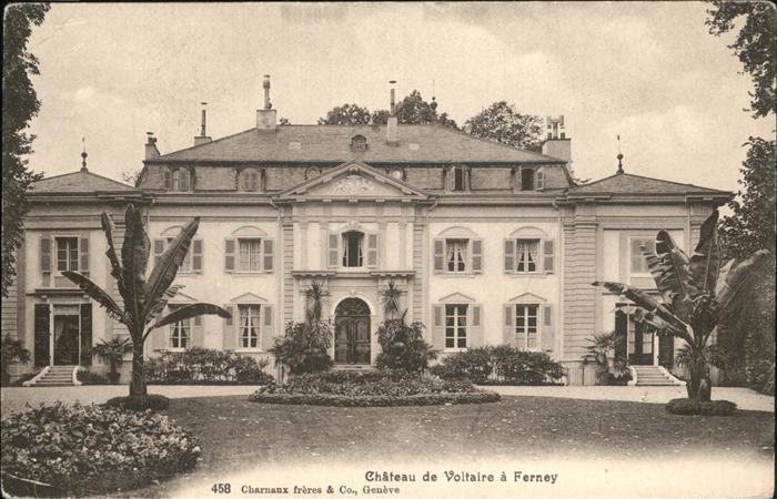 Ferney Voltaire Chateau Kat. Ferney Voltaire