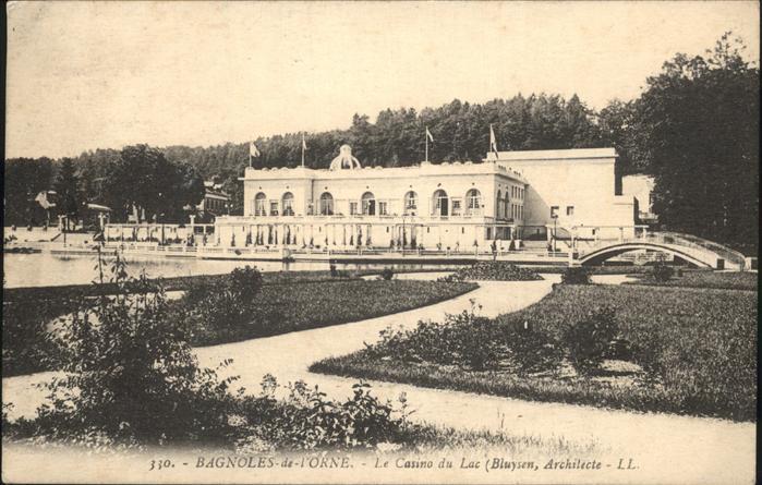 Bagnoles de l Orne Le Casino du Lac Kat. Bagnoles de l Orne
