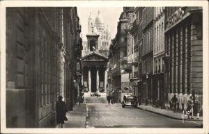 Paris Rue Laffitte Eglise Notre Dame de Lorette Basilique du Sacre Coeur Kat. Paris