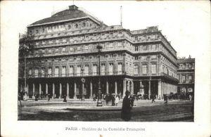 Paris Theatre de la Comedie Francaise Kat. Paris