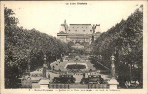 Saint Etienne Loire Jardins de la Place Jean Jaures Kat. Saint Etienne