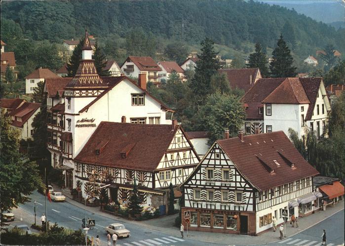 Bad Herrenalb mit Kloster Schaenke u.Kloster Drogerie Kat. Bad ...