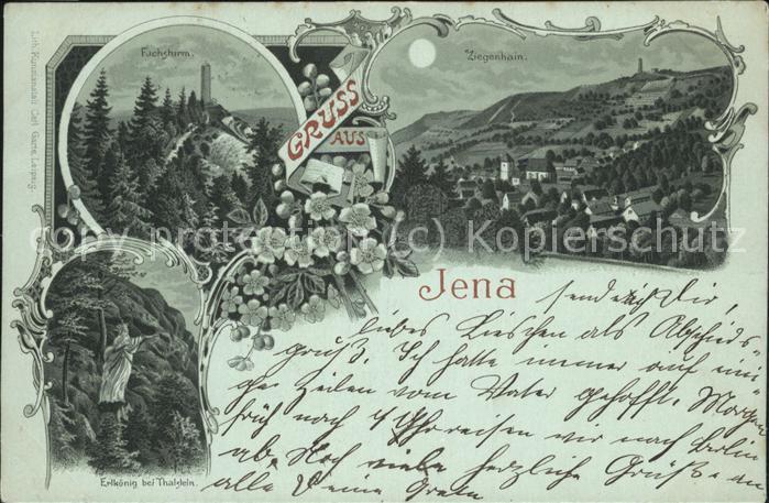 Jena Fuchsturm Ziegenhain Erlkoenig Kat. Jena