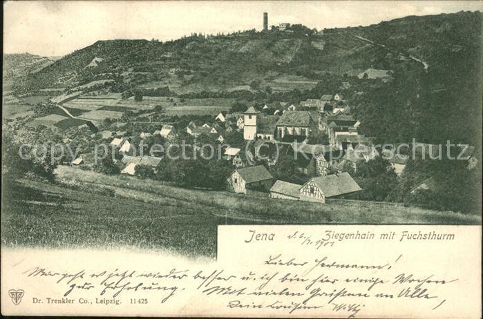 Jena Ziegenhain Fuchsturm Kat. Jena
