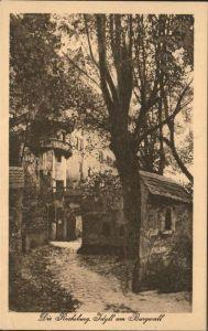 Rochsburg Schloss Idyll am Burgwall Kat. Lunzenau