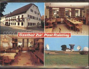 Raisting Gasthof zur Post / Raisting /Weilheim-Schongau LKR