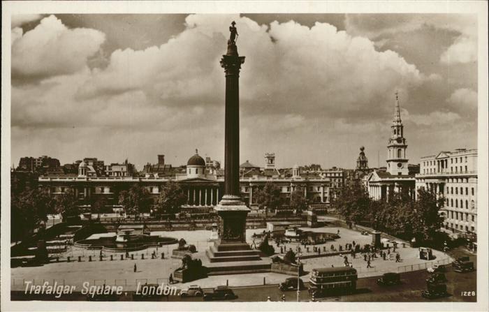 London Trafalger Square Kat. City of London