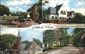 Roden Netherlands Lieverseweg Gemeentehuis Kerk Kat. Roden