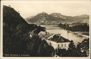 Rolandseck Rhein Drachenfels Kat. Remagen
