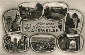 Ahrweiler Ahr Adenbachtor Obertor Kloster Niedertor Ahrtor / Bad Neuenahr-Ahrweiler /Ahrweiler LKR