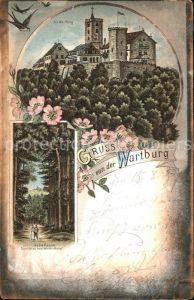 Wartburg Eisenach Wartburg Hohe Sonne Kat. Eisenach