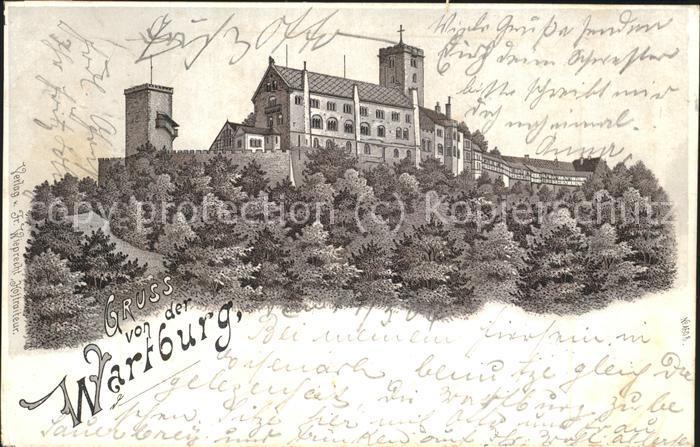 Wartburg Eisenach Wartburg Kat. Eisenach
