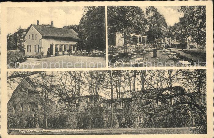 Grimma Kloster Nimbschen Ruine Klosterschaenke Garten Kat. Grimma Nr ...