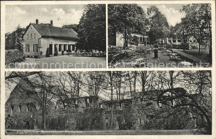 Grimma Klosterschaenke Garten Klosterruine Nonnenkloster Nimbschen ...