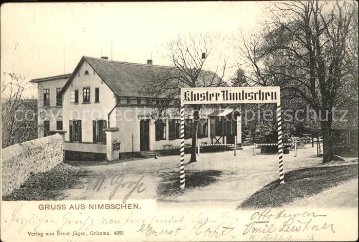 Grimma Kloster Nimbschen Kat. Grimma Nr. wx74038 - oldthing ...