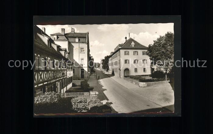 Zirndorf Mittelfranken Fuerther Strasse Kat. Zirndorf