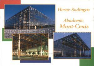 Sodingen Akademie Mont Cenis Kat. Herne