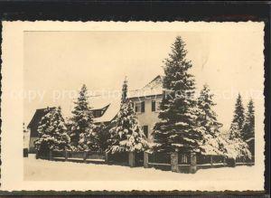 Dornstetten Wuerttemberg Privathaus im Winter / Dornstetten /Freudenstadt LKR