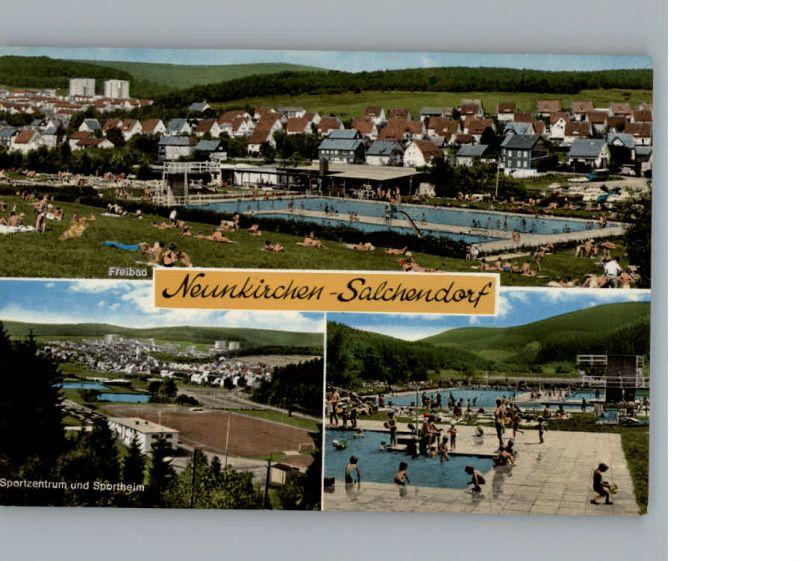 Salchendorf Neunkirchen Freibad / Neunkirchen /Siegen-Wittgenstein LKR