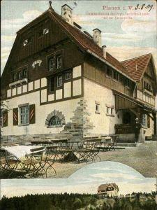 Plauen Vogtland Unterkunftshaus des Vogtl Touristen Vereins Kat. Plauen