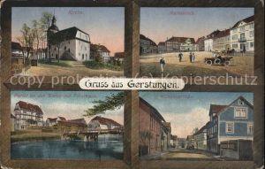 Gerstungen Kirche Markt Werra Frosthaus Kat. Gerstungen