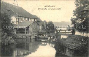 Gerstungen Werrapartie mit Herrenmuehle Kat. Gerstungen