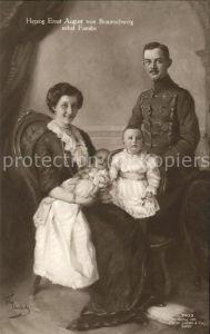 Adel Braunschweig Herzog Ernst August Familie Kat. Koenigshaeuser