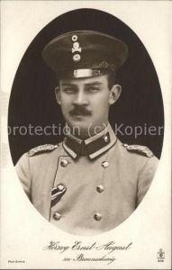 Adel Braunschweig Herzog Ernst August Kat. Koenigshaeuser