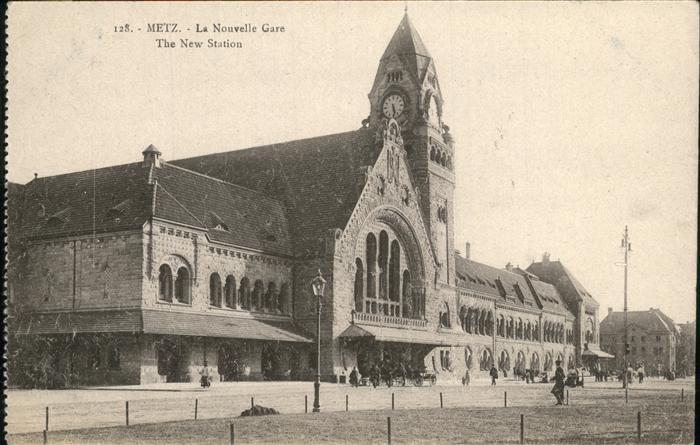 Bahnhof Metz Nouvelle Gare Kat. Eisenbahn