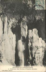 Hoehlen Caves Grottes d Osselle Doubs Franche Comte Kat. Berge