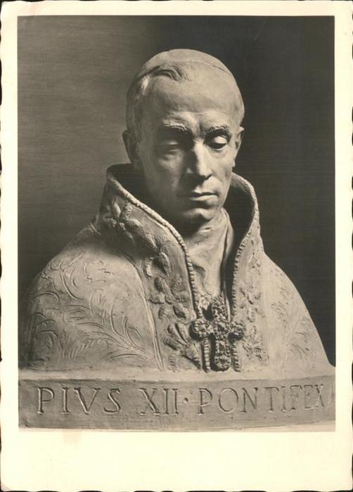 Papst Pius XII Pontifex Kat. Religion
