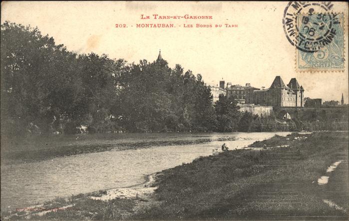 Montauban Les Bords du Tarn Kat. Montauban