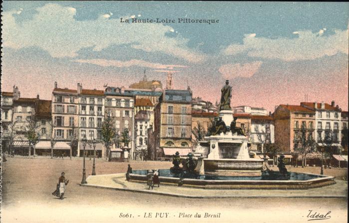 Le Puy Doubs Place du Breuil Kat. Le Puy