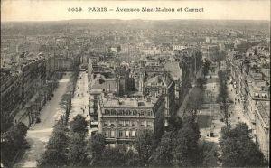 Paris Avenues Mac Mahon et Carnot Kat. Paris