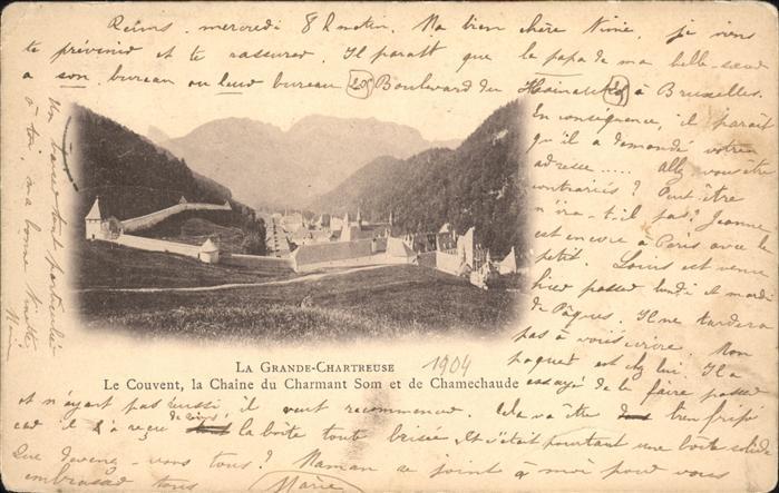 Saint Pierre de Chartreuse Isere La Grande Chartreuse Kat. Saint Pierre de Chartreuse